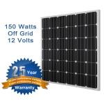 Renogy 150W Monocrystalline Solar Panel-287