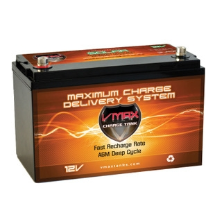 VMax 12V 85AH Solar Charge Tank Deep Cycle Battery -0