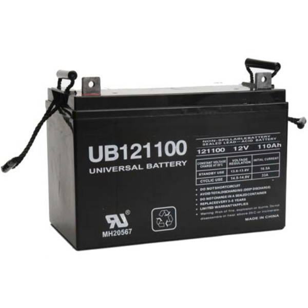 UPG 12V 110AH Sealed Lead-Acid Battery-0