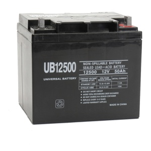 UPG 12V 50AH Sealed Lead-Acid Battery-0