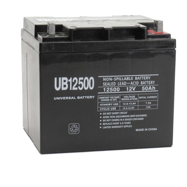 UPG 12V 50AH Sealed Lead-Acid Battery-0