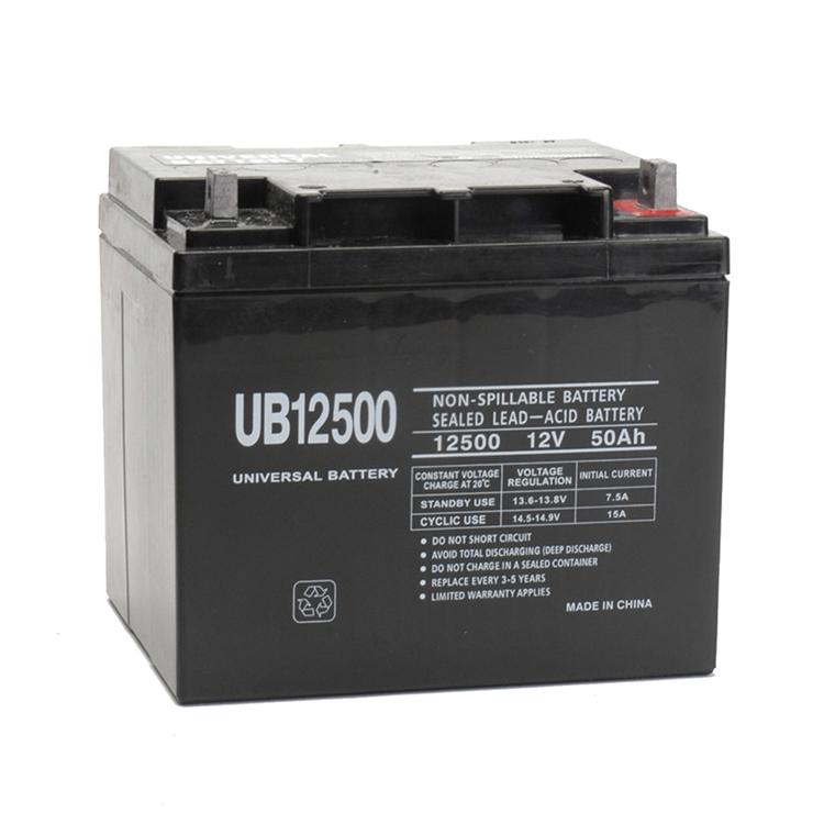 Lead Acid Battery >> Upg 12v 50ah Sealed Lead Acid Battery