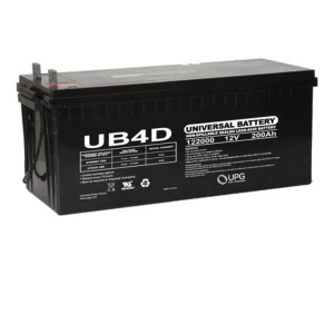 UPG 12V 200AH Sealed Lead-Acid Battery-0