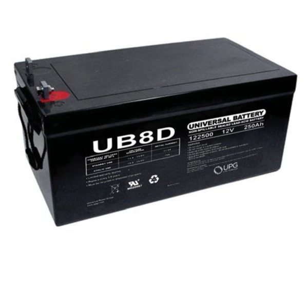 UPG 12V 250AH Sealed Lead-Acid Battery-0