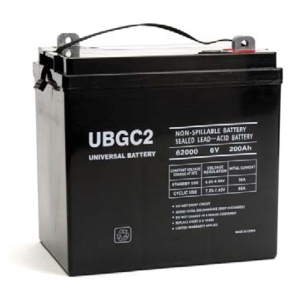UPG 6V 200AH Sealed Lead-Acid Battery-0