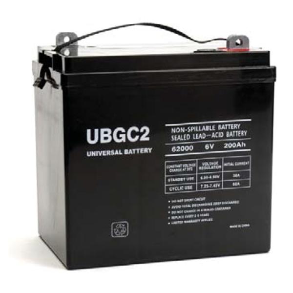 UPG 6V 200AH Sealed Lead-Acid Battery-0