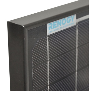 Renogy 30W Monocrystalline Solar Panel Bundle Black-445