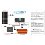 Renogy 50W Monocrystalline Bundle -434