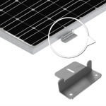 Renogy Solar Panel Mounting Z Bracket - Set of 4 -1834
