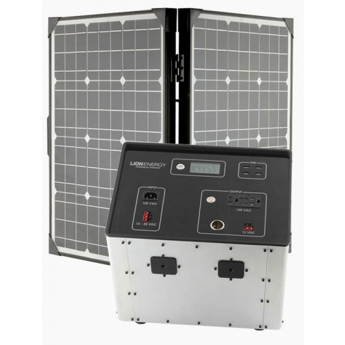 Lion Energy L-1500 Solar Generator Kit by Humless-0