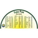 Heirloom Organics Farm Variety Seed Pack-675
