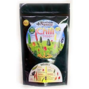 Heirloom Organics Chili Pepper Variety Seed Pack-0