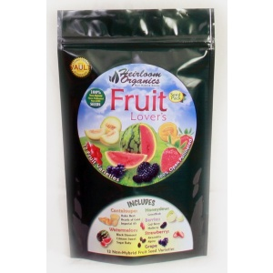 Heirloom Organics Fruit Lover's Seed Pack-0