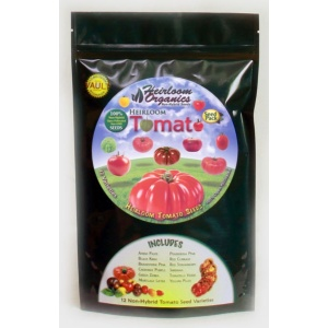 Heirloom Organics Heirloom Tomato Variety Seed Pack-0
