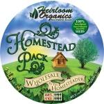 Heirloom Organics Homestead Seed Pack-654