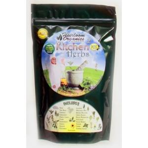 Heirloom Organics Professional Kitchen Herb Seed Pack-0