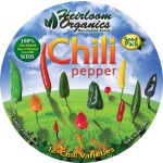 Heirloom Organics Chili Pepper Variety Seed Pack-667