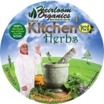 Heirloom Organics Family Kitchen Herb Variety Seed Pack-674
