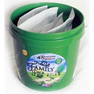 Heirloom Organics Family Variety Seed Pack Vault-679