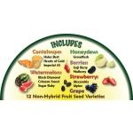 Heirloom Organics Fruit Lover's Seed Pack-647