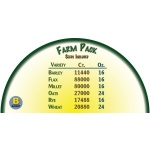 Heirloom Organics Farm Variety Seed Pack-678