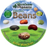 Heirloom Organics Drying Beans Seed Pack-648