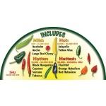 Heirloom Organics Chili Pepper Variety Seed Pack-668