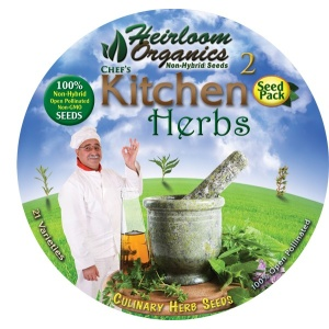 Heirloom Organics Professional Kitchen Herb Seed Pack-651
