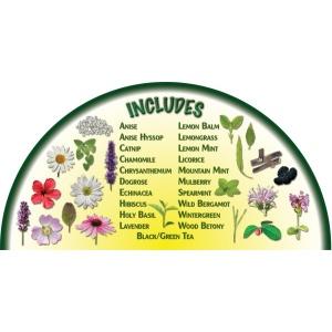 Heirloom Organics Tea Garden Variety Seed Pack-657