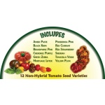 Heirloom Organics Heirloom Tomato Variety Seed Pack-663