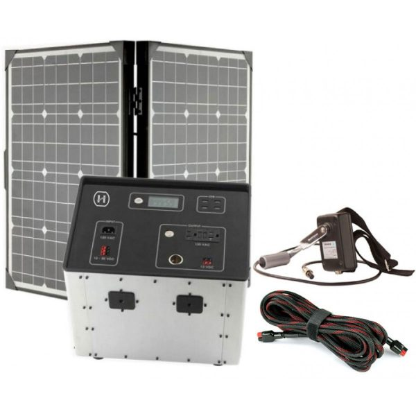 1500 Series Solar Generator Kit 0.64kWh by Humless-0
