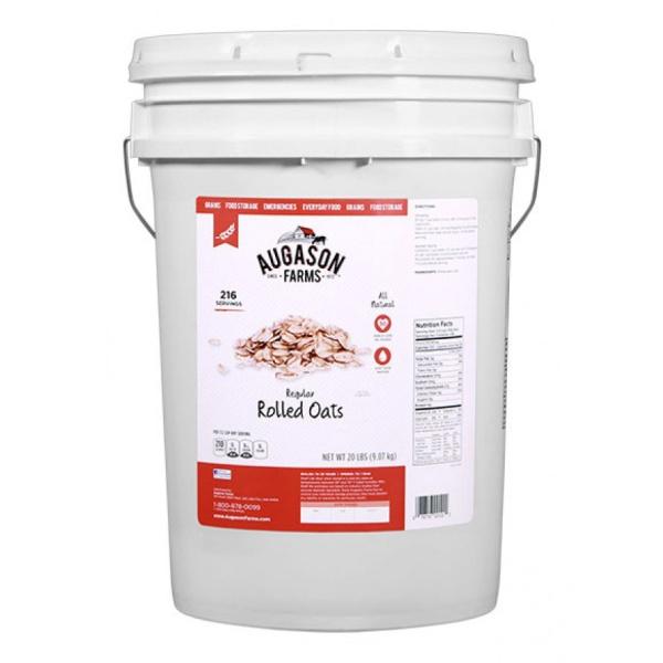 Regular Oats 20lb 6 Gallon Pail-0