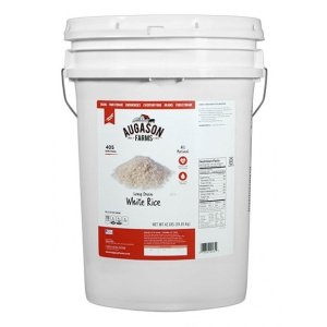 Long Grain White Rice 42lb 6g Pail-0