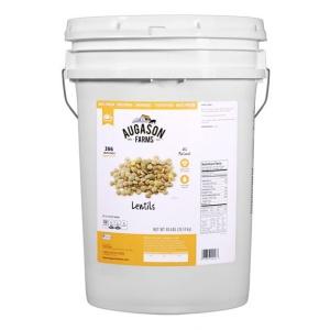 Lentils 40lb 6 Gallon Pail Gluten Free-0