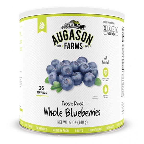 Freeze-Dried Blueberries 26 Servings Can-0