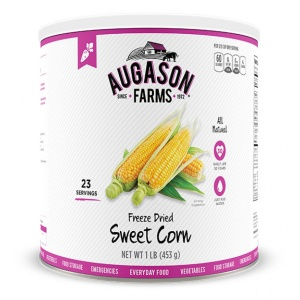 Freeze Dried Sweet Corn 23 Servings Can-0