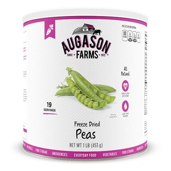 Freeze-Dried Peas 16oz Can-0