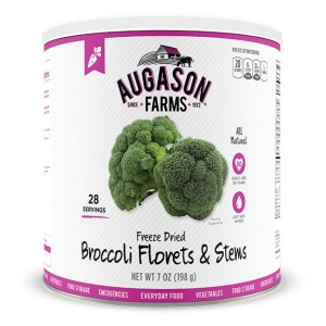 Freeze-Dried Broccoli Florets 28 Servings-0