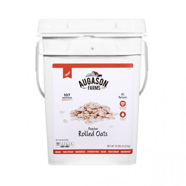 Oats Regular 10lb 4g Pail-0