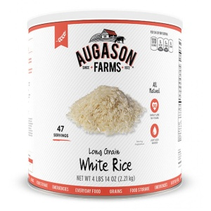 Long Grain White Rice 47 Servings Can-0