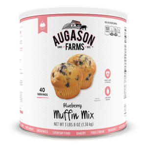 Blueberry Muffin Mix 40 Servings Can-0