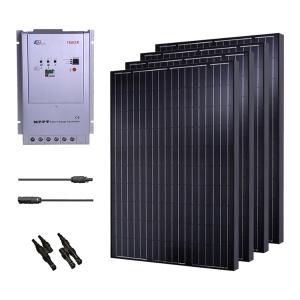 Renogy 1000W Monocrystalline Solar Panel Cabin Kit-0