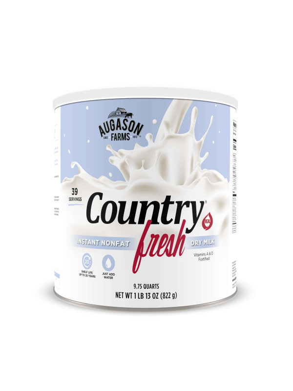 Country Fresh Milk for Food Storage