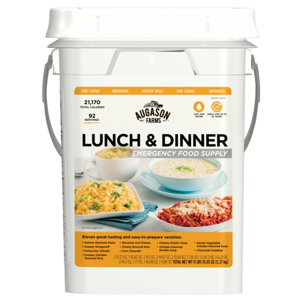 Augason Farms Lunch & Dinner Pail