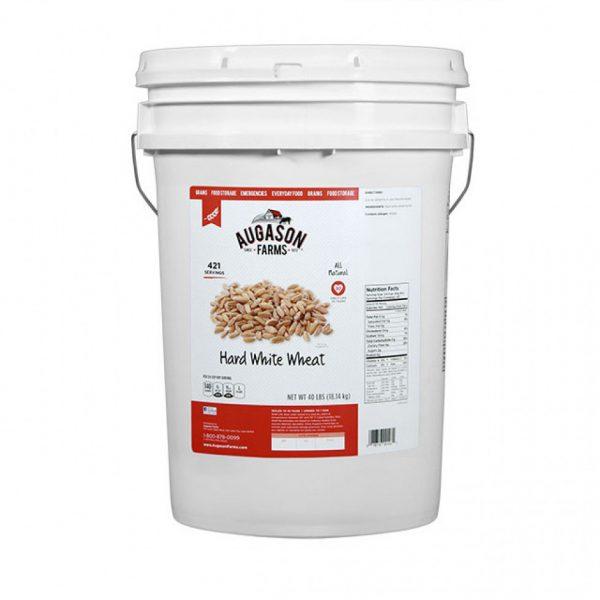 Hard White Wheat 40lb 6 Gallon Pail-0