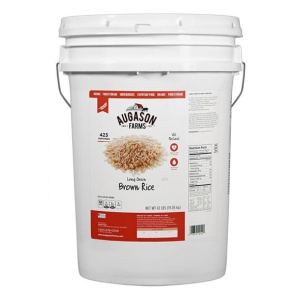 Gluten Free Brown Rice 42lb 6 Gallon Pail-0