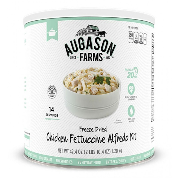 Gluten Free Chicken Fettuccine Alfredo-0
