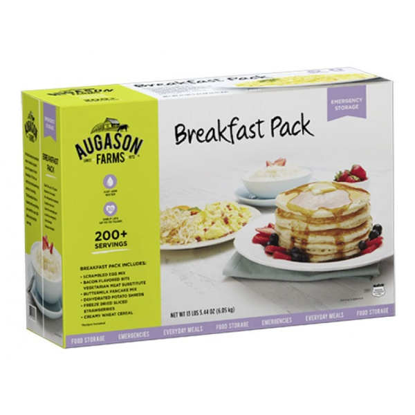 Augason Farms Breakfast Pack-0