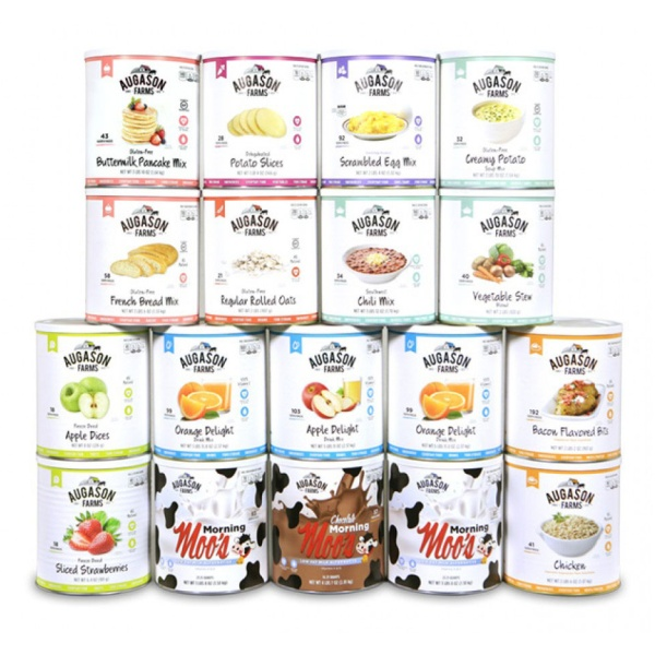 Gluten Free Complete Meal Pack - 18 #10 Cans-0