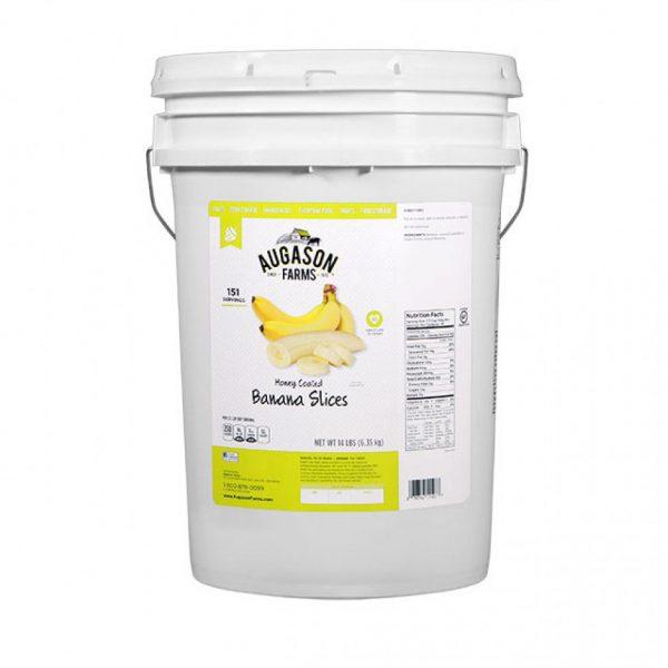 Gluten Free Banana Slices 14lb 6 Gallon Pail-0